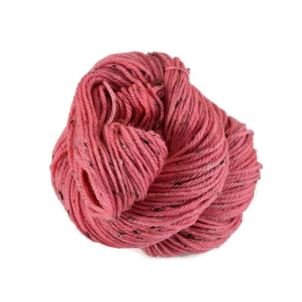 Shield Merino Tweed Aran Yarn - Bubblegum