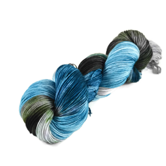 Percival Merino Nylon Fingering Sock Yarn - Cliffside