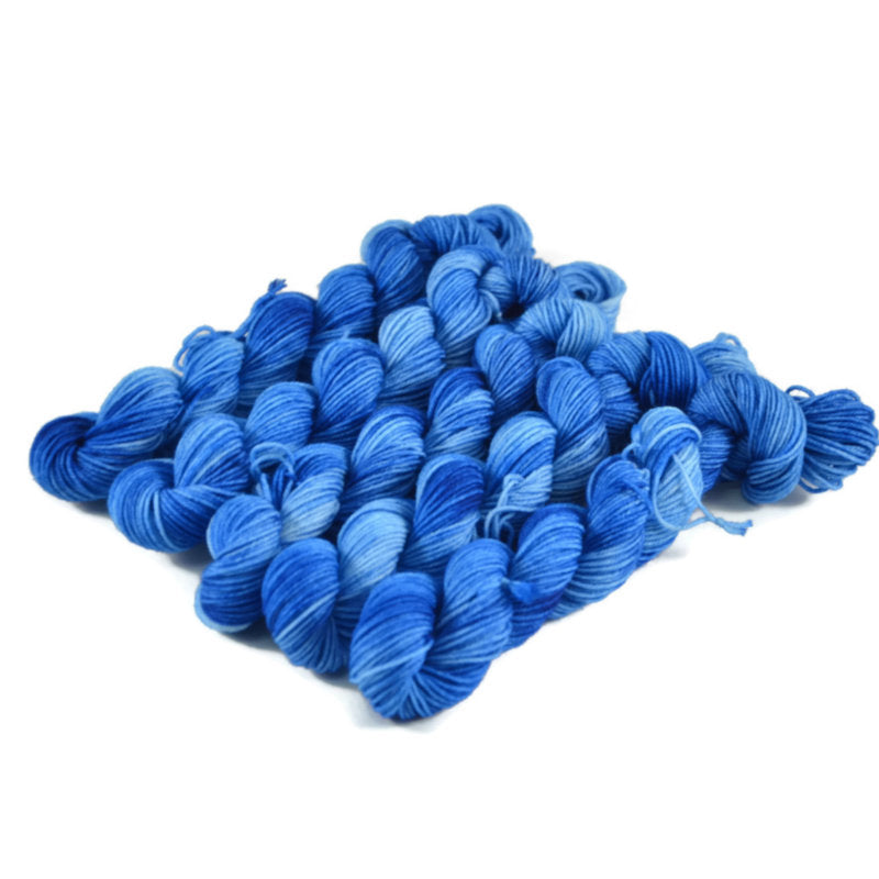 Percival Merino Fingering Yarn Mini Skeins - Peacock