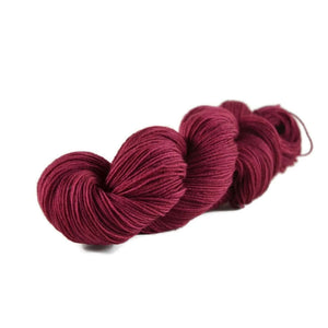 Excalibur BFL Nylon Fingering Sock Yarn - Berry