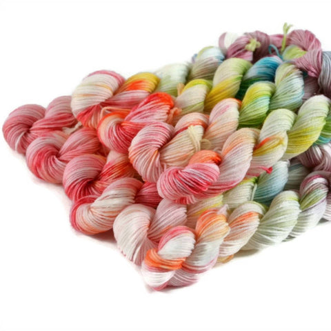 Percival Merino Fingering Yarn Mini Skeins - Birthday Cake