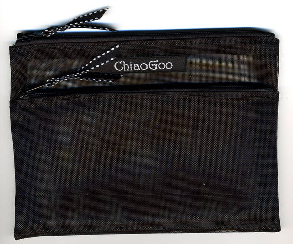 ChiaoGoo Black Accessory Pocket Pouch