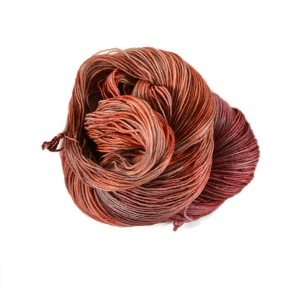 Excalibur BFL Nylon Fingering Sock Yarn - Catching Fire