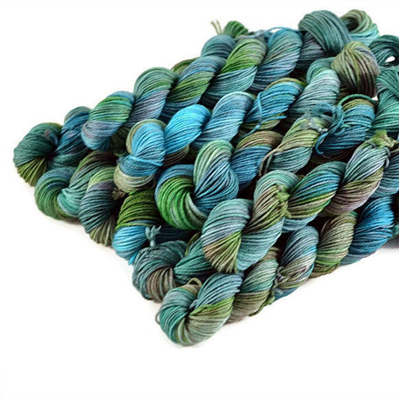 Percival Merino Fingering Yarn Mini Skeins - Bayou