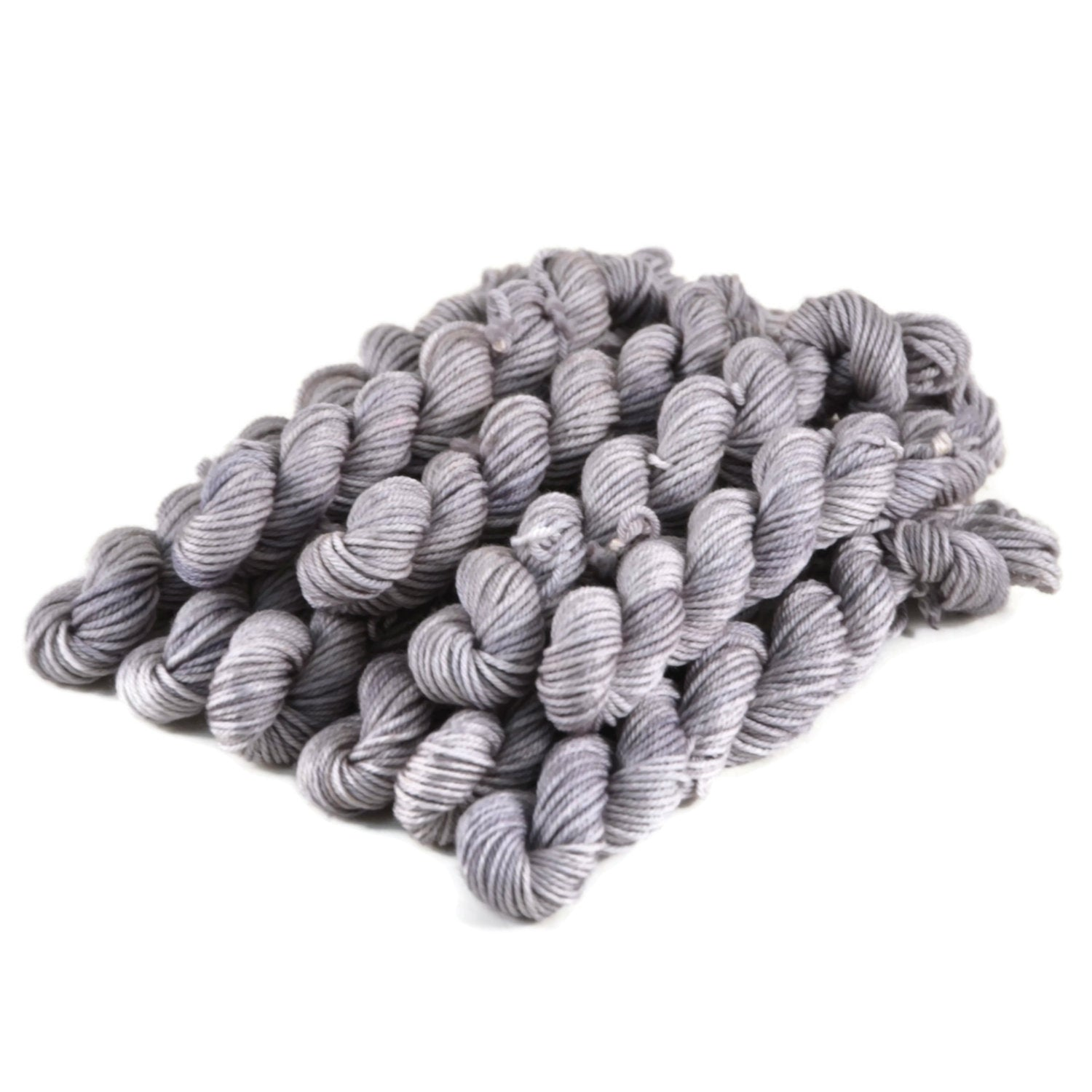 Merlin Merino Worsted Yarn Mini Skeins - Dove