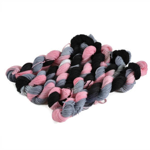 Percival Merino Fingering Yarn Mini Skeins - Crush