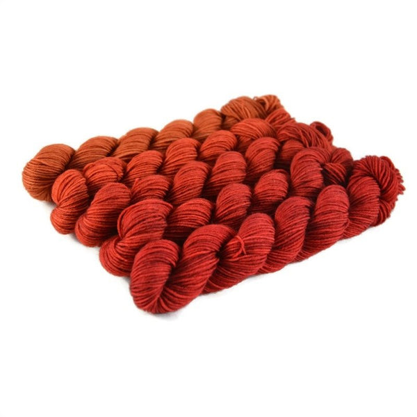 Gradient Fingering Mini Skein Set - Starburst