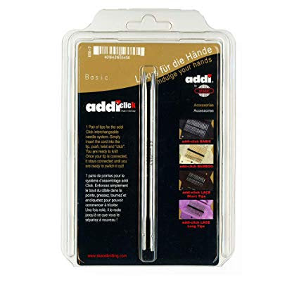 addi Turbo Basic Click Interchangeable Knitting Needle Tips
