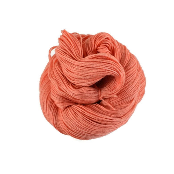 Percival Merino Nylon Fingering Sock Yarn - Coral