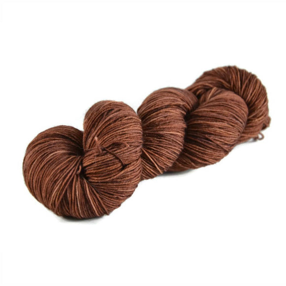 Percival Merino Nylon Fingering Sock Yarn - Chocolate