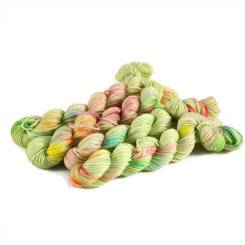 Percival Merino Fingering Yarn Mini Skeins - Limeade