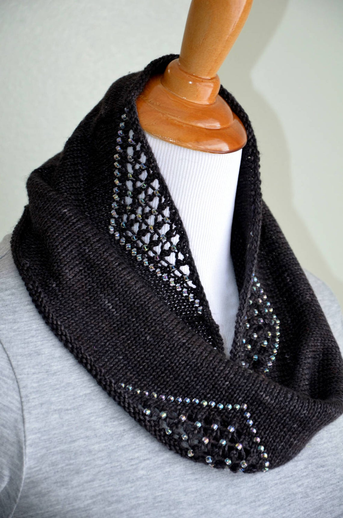 Twilight Cowl - PDF Knitting Pattern