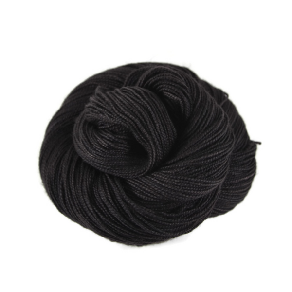 Adventure Merino Nylon Fingering Sock Yarn - Onyx
