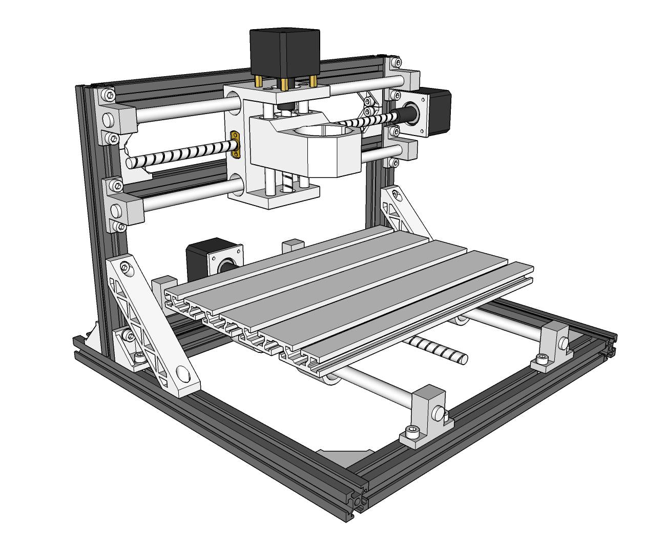 CNC Assembly Instructions