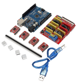 CNC Shield UNO-R3 Board 4 x A4988 Driver Kit