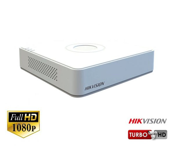 HikVision 4CH Turbo 4.0 DVR HD-TVI 1080p - DIY-Geek