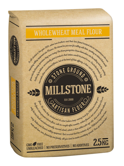 MillStone Stoneground Flour 2.5kg - DIY-Geek
