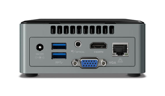 i7-8650U,UT 4.20GHz Dual Core 7th Gen Intel Next Unit of Computing Kit (NUC) - DIY-Geek