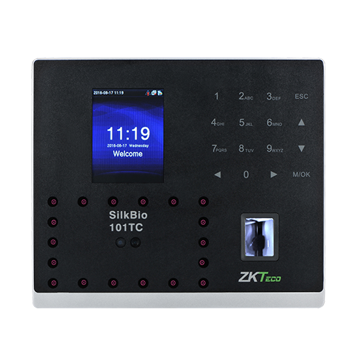 SilkBio-101TC - ZKTeco IP Based Fingerprint Time and Attendance Units