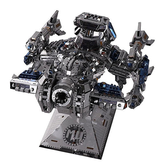 3D Stainless Steel Spacecraft Puzzle
