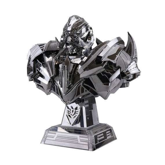 3D Stainless Steel Megatron Puzzle