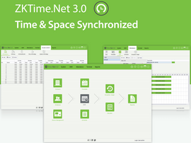 ZKTime.Net 3.0 Time & Attendance Software