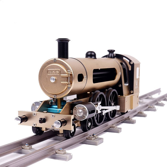 Two Piston Steam Train DIY Model