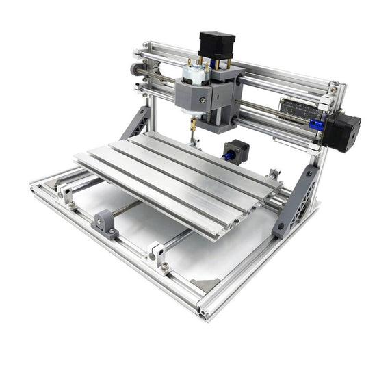 3018 3 Axis DIY CNC Router c/w 5500mW Laser Engraver