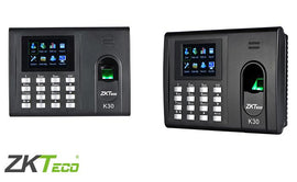 K30 - ZKTeco IP Based Fingerprint Time and Attendance Units