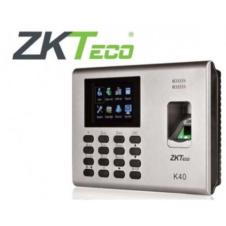 K40 - ZKTeco IP Based Fingerprint Time and Attendance Units