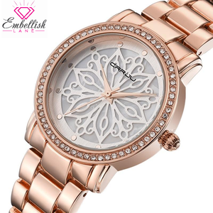 Luxe Mandala Crystal Watch