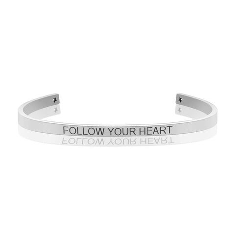 """Follow Your Heart"" Bangle"