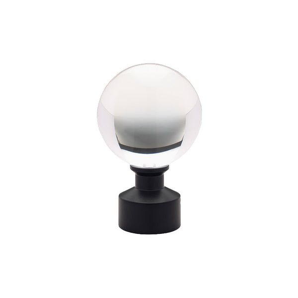 "Acrylic Ball Finial for 3/4"" Metal Pole, each."