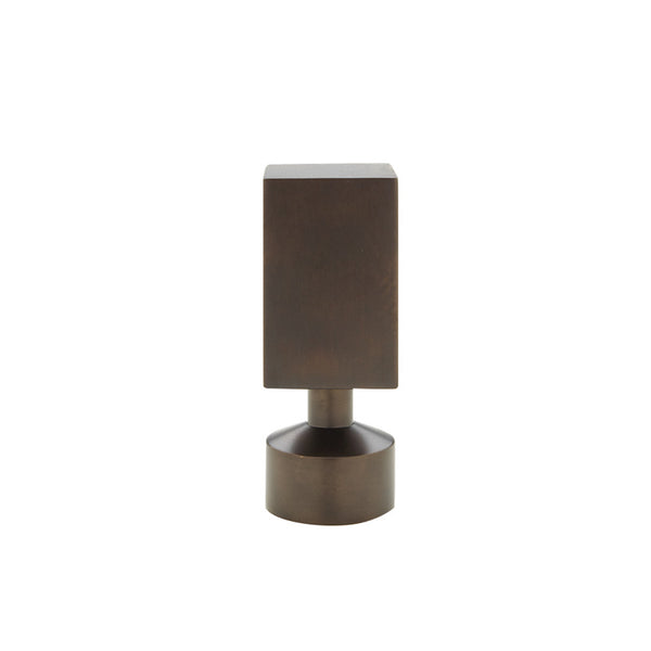 "Empire finial for 3/4"" metal pole, each."