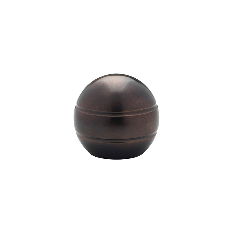 "Modern Ball Finial for 3/4"" Metal Pole, each."