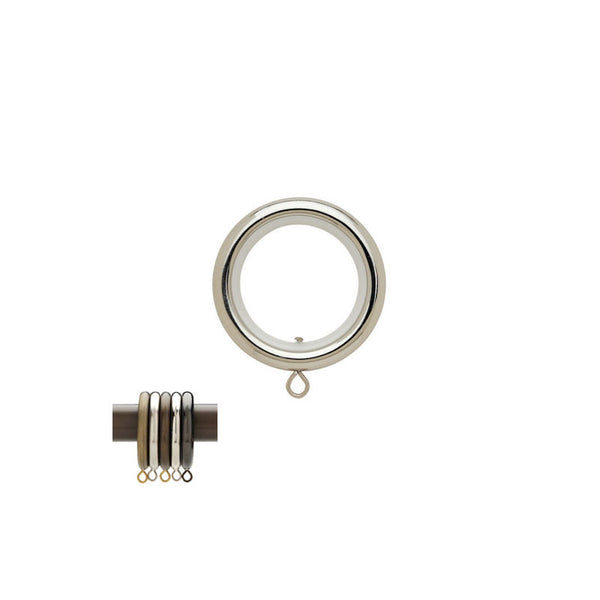 "Round Ring with Liner for 1-3/16"" Metal Pole, each."