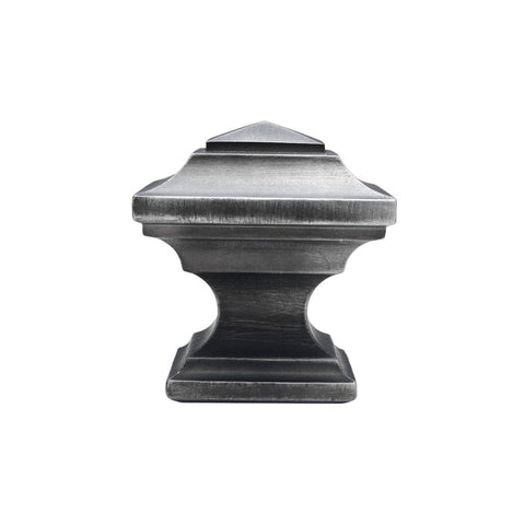 "Oxford Wood Finial for 2-1/4"" Pole, each."