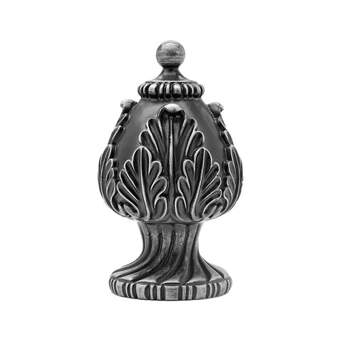 "Valencia Resin Finial for 2-1/4"" Pole, each."