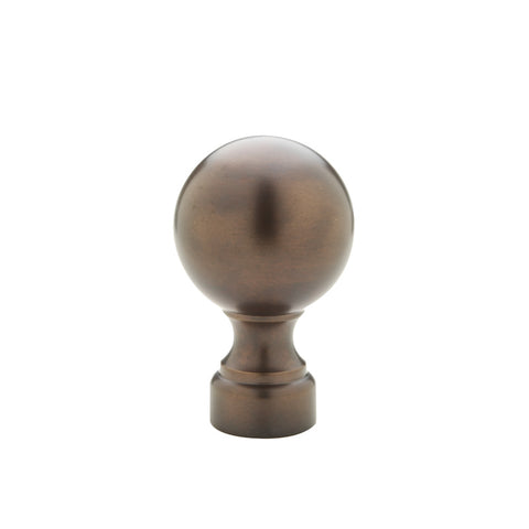 "Ball Finial for 3/4"" Metal Pole"
