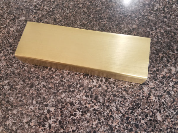 "1"" x 2"" Rectangular Metal Rod, 6' Length"