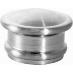 "Endcap Finial for 1-1/8"" Acrylic or Metal Rod, each."