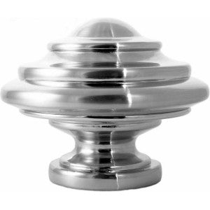 "Hampton Finial for 1-1/8"" Metal or Acrylic Pole, each."