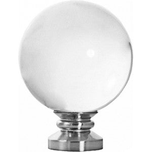 "Orion Finial for 1-1/8"" Metal or Acrylic Pole, each."