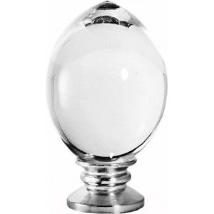 "Tribeca Finial for 1-1/8"" Metal or Acrylic Poles"
