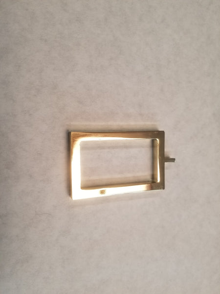 Acrylic/Metal Ring for Rectangular Rod, each.