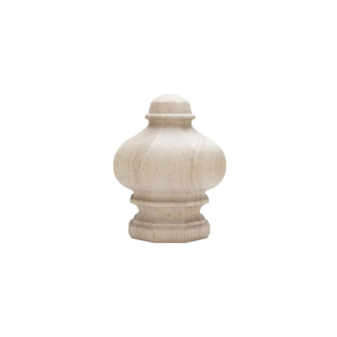 "Prescott Finials for 1-3/8"" Pole, pair."