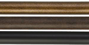 "Straight 1"" Smooth Iron Rod, 4' Length"
