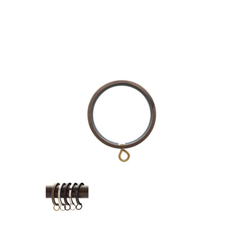 "Flat Ring with Liner for 3/4"" Metal Pole, each."
