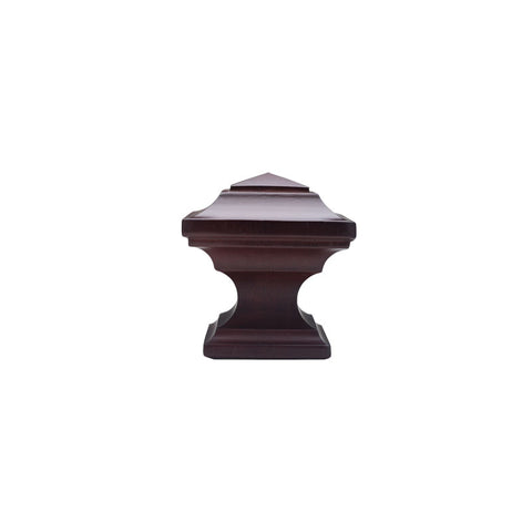 "Oxford finial pair for 1-3/8"" Pole."