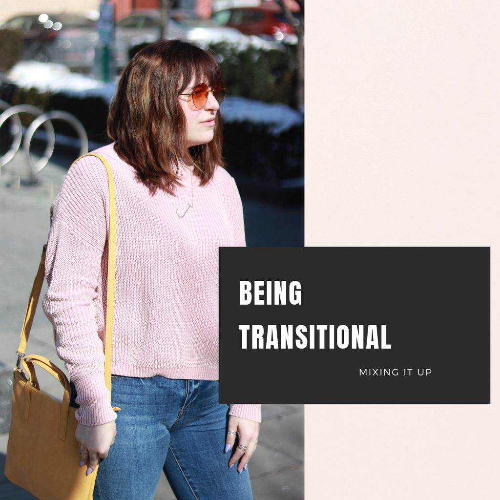 Learning to be Transitional: Mixing it up